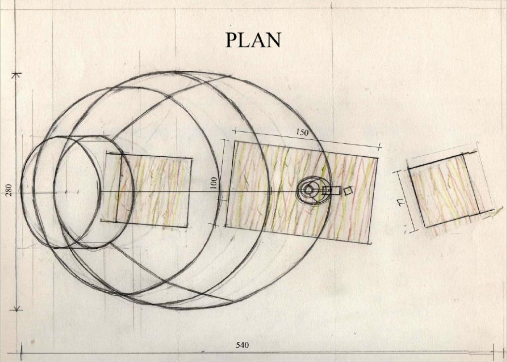 "plan, élévation, projet 1, ""émergence"""