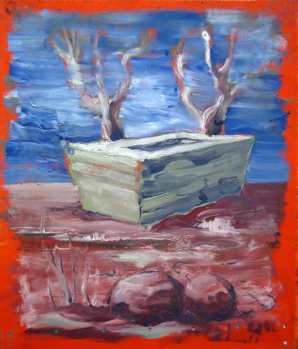 Arcadie-n°-2-2007-mixte-sur-toile-65x50-cm