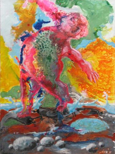Baigneur-2005-mixte-sur-toile-130x97-cm
