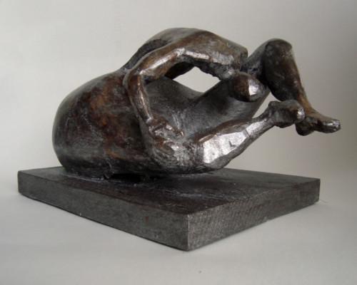 Figure, 1998 - 2021, 33 x 23 x 20 cm, plâtre