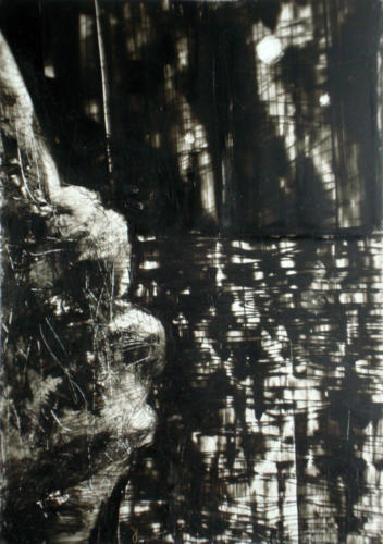 La mer n°2, 2016, encre sur tranparent, 30 x 21 cm