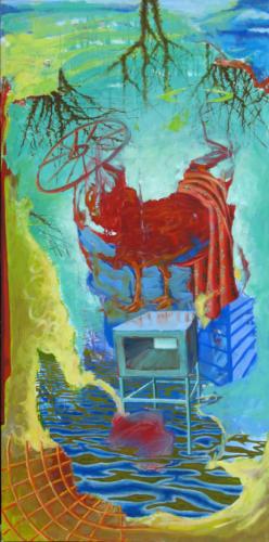MACHINERIE-2007-mixte-sur-toile-195x97-cm