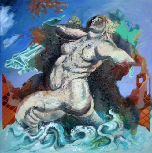 Medicis-daprès-Rubens-2007mixte-sur-panneau-de-bois-120x120-cm