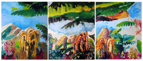 Perou-2005-mixte-sur-toile-92-x-220-cm-triptyque