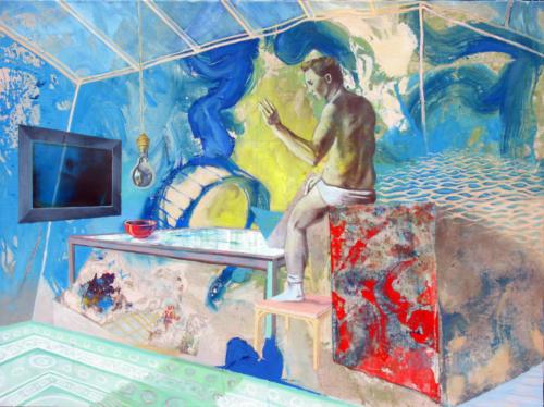 Sas-autoportrait-2007-mixte-sur-toile-98x130-cm