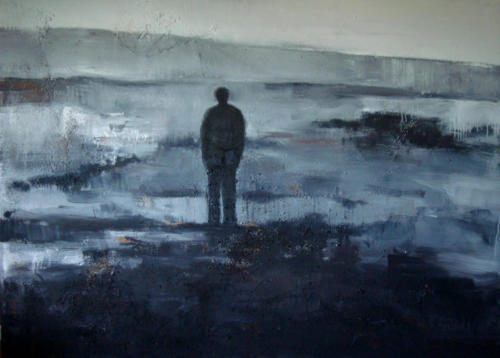Tarkovski, 2018, mixte sur toile, 200 x 150 cm