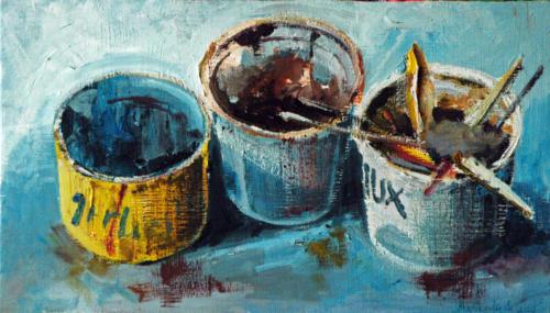 Trois-pots-2005-huile-sur-bois-29x50-cm